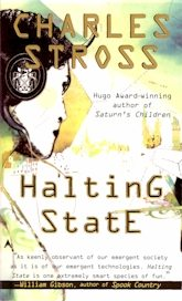 Halting State US cover