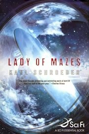 Lady of Mazes hardback cover