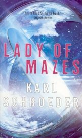 Lady of Mazes paperback cover