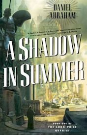 A Shadow in Summer hardback cover