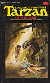 Tarzan of the Apes Ballantine cover