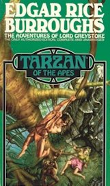 Tarzan of the Apes Del Rey cover