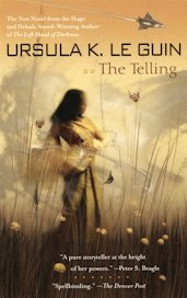 The Telling trade paperback cover