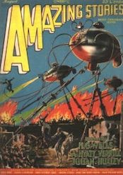 War of the Worlds Amazing Stories