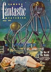 War of the Worlds Famous Fantastic Mysteries